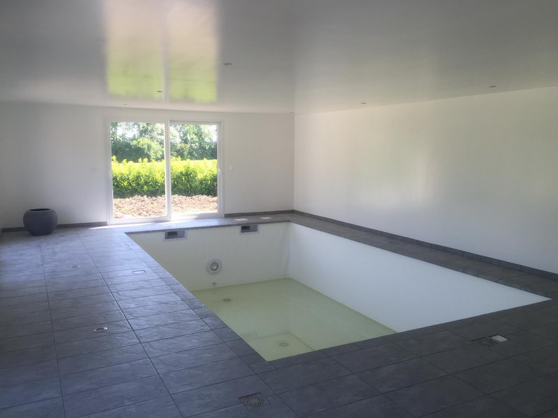 Am nagement ext rieur for Liner piscine sur mesure avec escalier